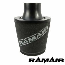 Ramair Universal Air Filter 70Mm Od Neck Aluminium Induction Intake Cone Black