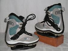 "K2 "" CLICKER "" JUNIOR SNOWBOARD STEP-IN BOOTS GR: 36 + K2 STEP-IN BINDUNG"
