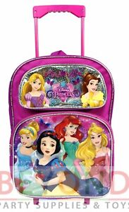 ecd4e8236261 Image is loading Disney-Princesses-Princess-Rolling-Backpack-for-Kids-School