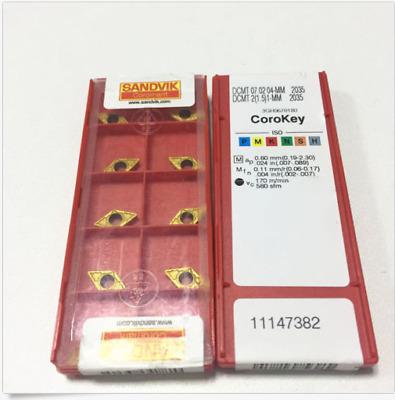 1-PM  Carbide Inserts 1.5 10pcs  DCMT070204-PM4325  DCMT2