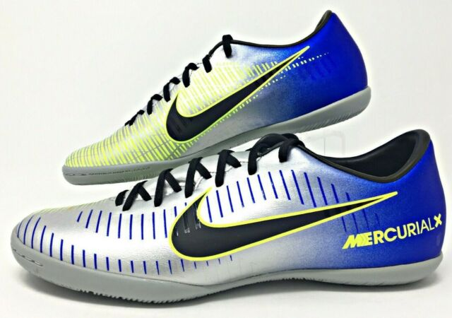 new arrival 96340 80d5b Nike MercurialX Victory VI IC Neymar Men's Indoor Soccer Shoes SZ  (921516-407)