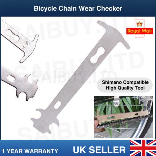 Chain Wear Measure Indicator For MTB Bicycle Cycling Bike Chain Shimano Checker