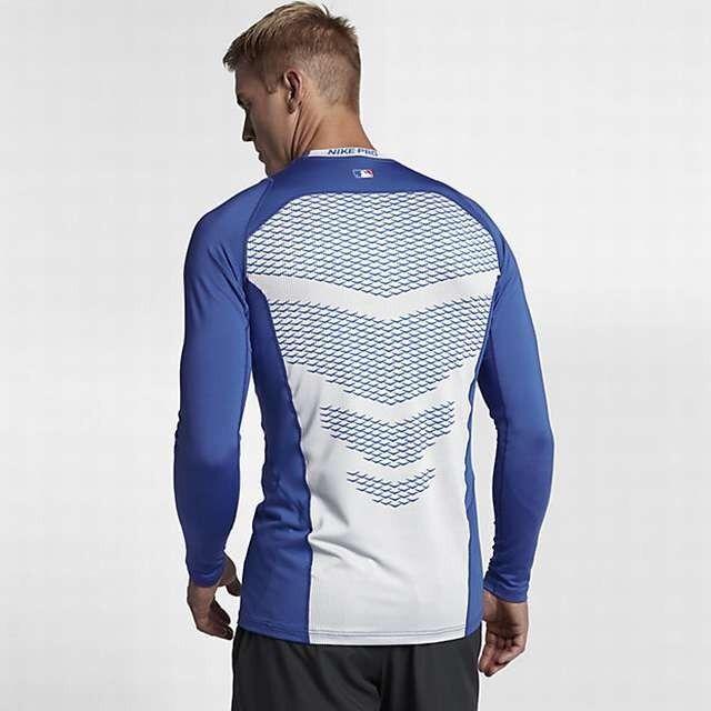 lobo Máquina de escribir Un evento  NWT Nike Pro / Combat Fitted Vapor Long Sleeve Dri Fit Shirt Mens Sizes MLB  NFL for sale online