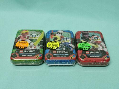 Mini Tin Box oder im Set Lego Ninjago Serie 5 aussuchen aus allen Tin Dosen