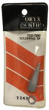 Wahl Oryx Isotip 7243 Soldering Tip Solder Tips For 7200 7250 Irons