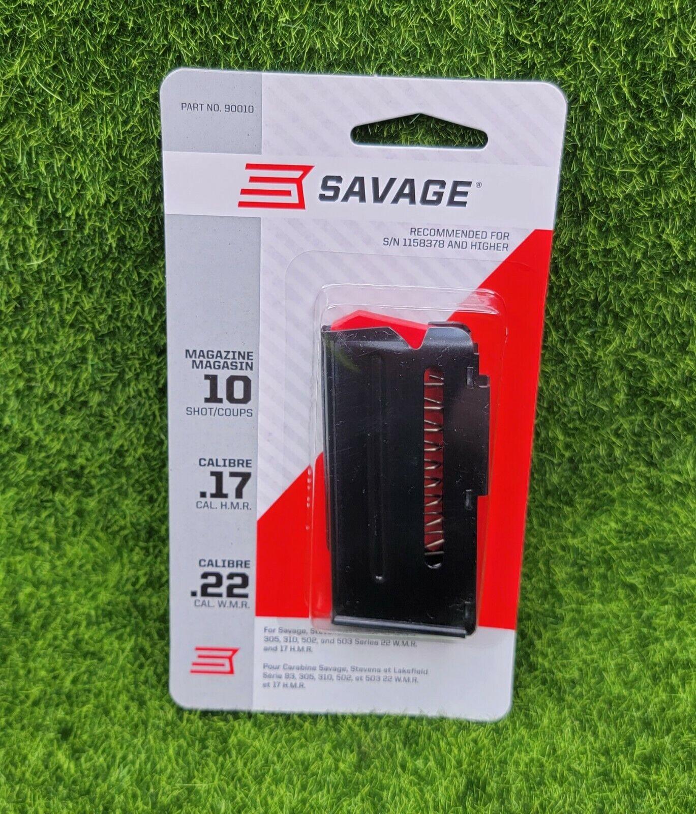 Blue for sale online Savage Arms 93 90010 Rifle Magazine 17HMR 22WMR 10 Round