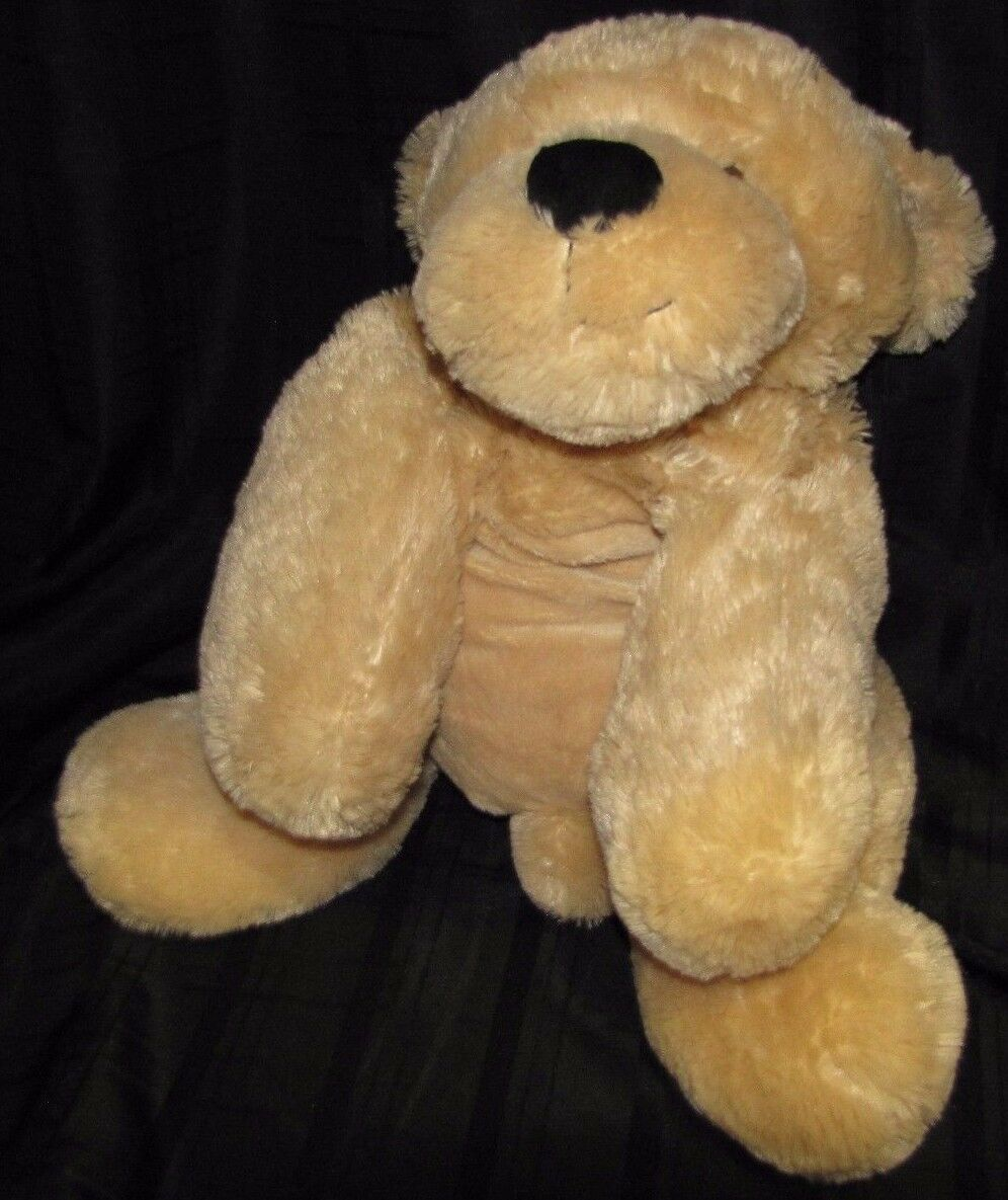 ANIMAL ADVENTURE STUFFED PLUSH BIG HUGE LARGE JUMBO oroEN RETRIEVER DOG giallo