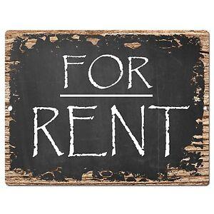 pp0415 for rent plate sign cafe store shop restaurant office apartment rent sign ebay. Black Bedroom Furniture Sets. Home Design Ideas