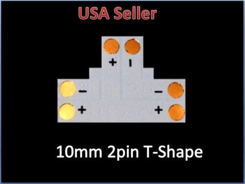 3528 8mm//5050 10mm T L X Shape Adapters pcb LED Strip Connectors No soldering