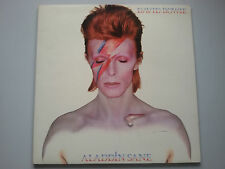 David Bowie - Aladdin Sane Vinyl LP + Inner German 1st Press Gatefold EX+/EX+
