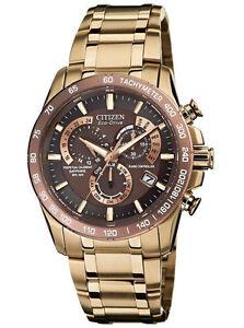 f2da06b9843f Men s Citizen AT4106-52X Eco-Drive Perpetual Chrono A-T Rose Gold-Tone Watch