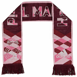 Adidas Real Madrid Fan Schal Scarf Rosa Rot Real 3rd Scarf Ab9347 Neu & Ovp