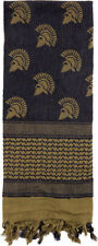 Rothco 88533 OD Spartan Print 100 Cotton Tactical Desert Scarf Shemagh