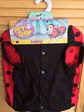 dog halloween costume ladybug costumes dress pet lady bug casual canine xl