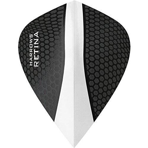 Kite Shape Harrows Retina Dart Flights Clear