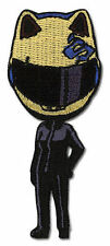 Patch - Durarara - New Celty in Helmet Anime Iron-On Gifts Toys Licensed sealed