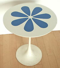 MID CENTURY MODERN KNOLL TULIP PEDAL BURKE SIDE TABLE