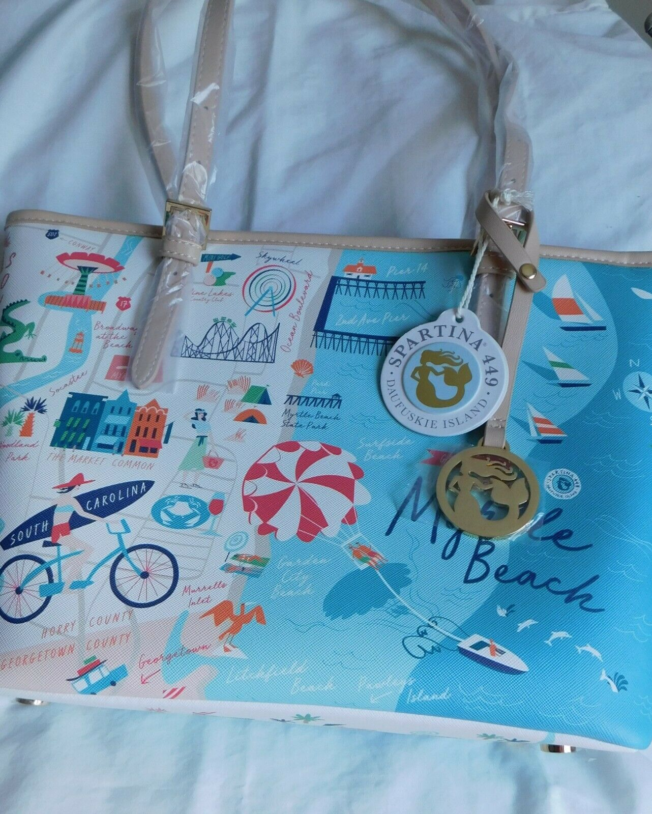 Spartina449: Myrtle Beach Small Tote