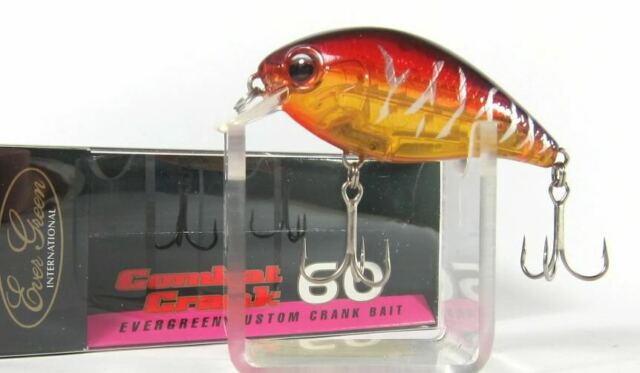 7997 Evergreen Combat Crank TC-60 Floating Lure 50