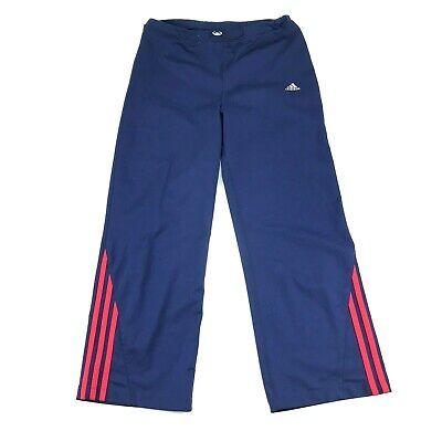 Adidas Da Donna Blu 2 Righe Coulisse Atletica Corto Capri Pantaloni Xl Abbiamo Vinto L'Elogio Dai Clienti