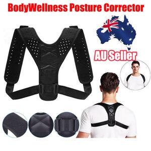 Posture Clavicle Corrector Support Adjustable Therapy Back Brace Shoulder Strap