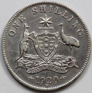 Australia-1920-M-Shilling-Very-Fine