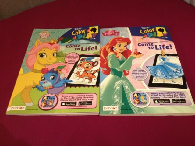 - Disney Princess Palace Pets Color And Play Book App Coloring Activities For  Sale Online EBay