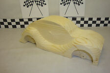 """Pinewood Derby Pre-cut, #14LS """"The VW Beetle"""" Our Best Selling Car!"""