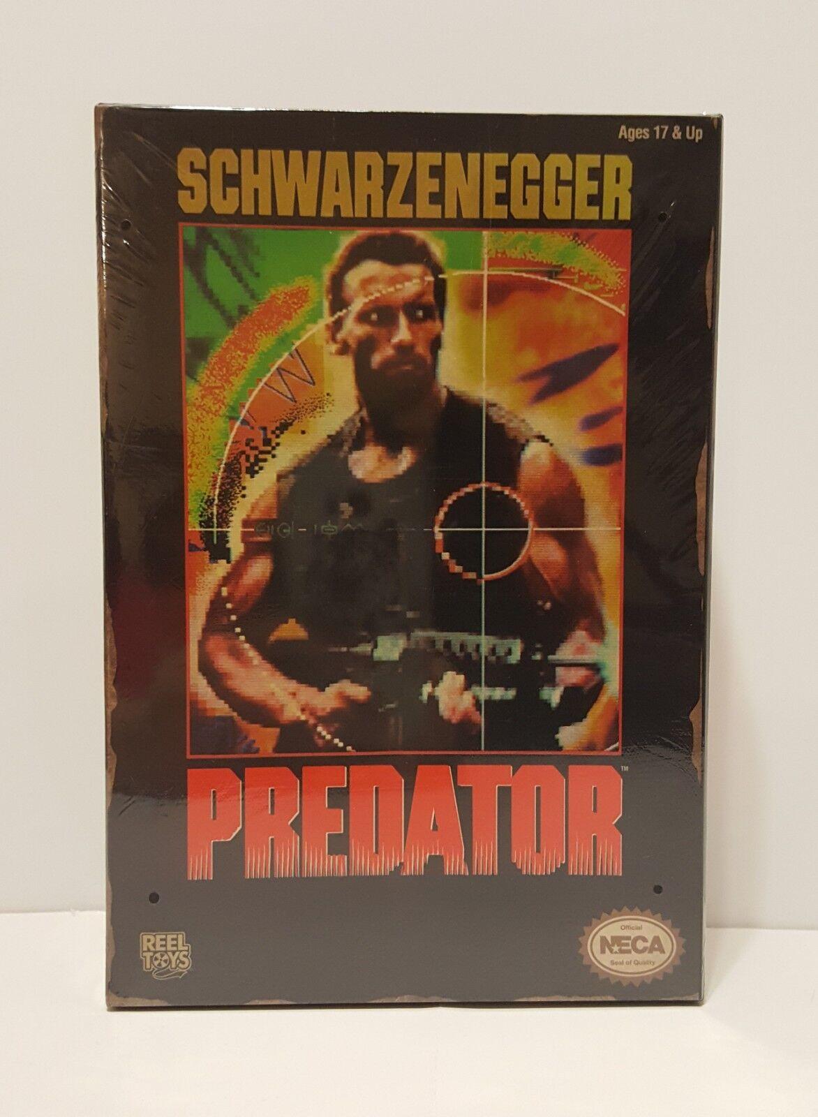 blackenegger Predator Action Figure Neca 2014 New