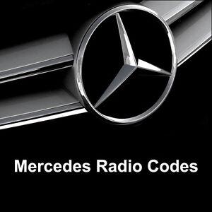 Details about Mercedes Radio Code Alpine - Audio 10 MF2910 - AL2910 Car  Unlock Key Codes