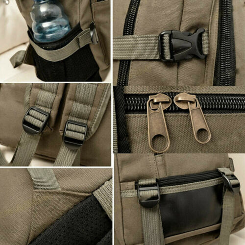 Sports Male Luggage Men Canvas Backpack Double-Shoulder Bag Travel Bags