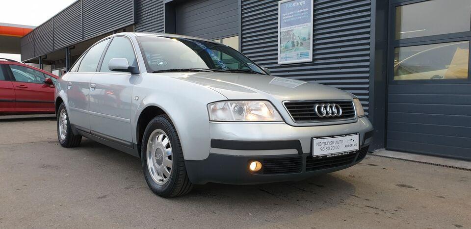 Audi A6 2,4 V6 Tiptr. Benzin aut. Automatgear modelår 1998