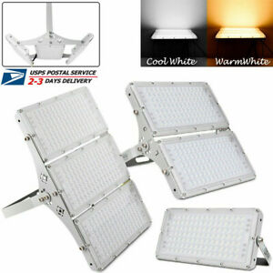 100W-300W-LED-Flood-Light-Outdoor-Garage-Yard-Spotlight-Garden-Security-Lighting