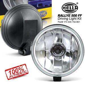 New-amp-Genuine-Pair-HELLA-Rallye-500-FF-Driving-Fog-Lamp-Spot-Lights-Kit