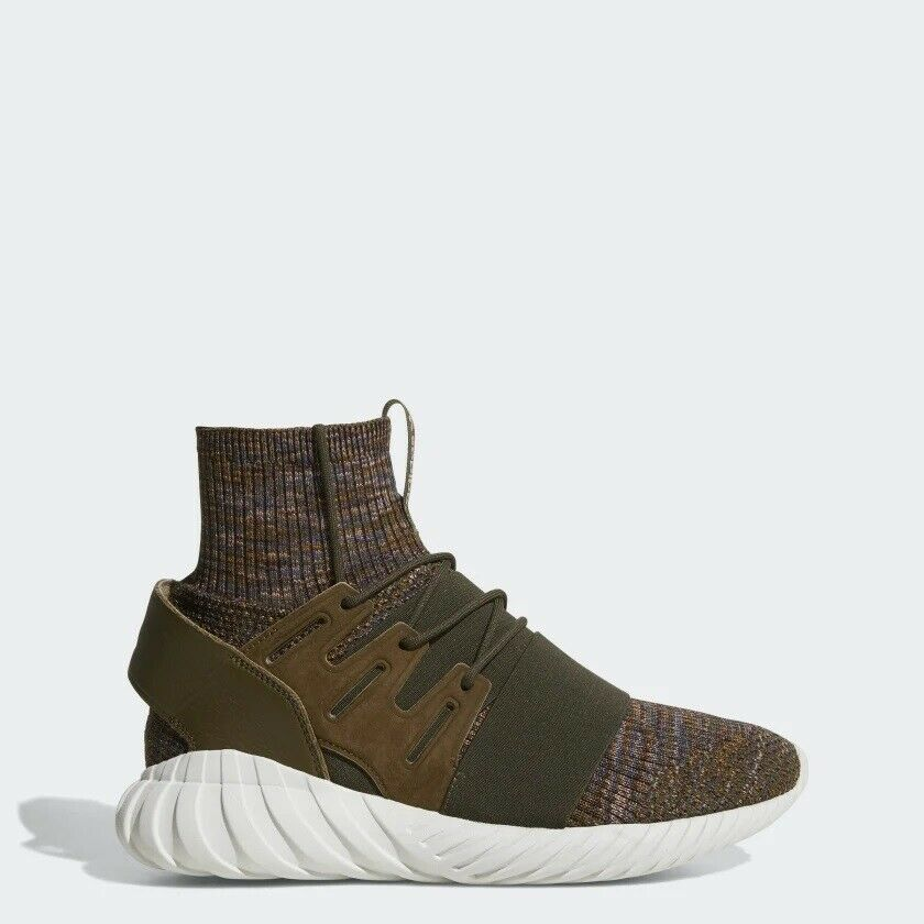 Men's adidas Tubular Doom Primeknit shoes - Green - BY3551