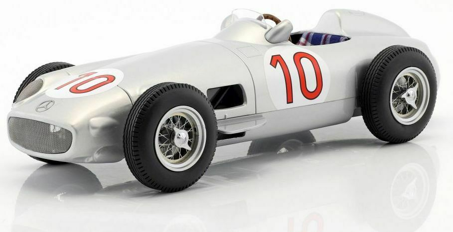 ISCALE 1 18 MERCEDES-BENZ W196 10 FORMULA 1 J.M.FANGIO WINNER BELGIUM GP 1955