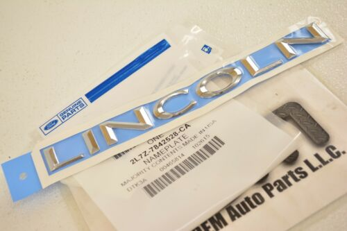 2003-2012 Lincoln Navigator Chrome LINCOLN Liftgate REAR nameplate emblem OEM