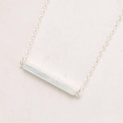 Fashion Square Bar Clavicle Necklace For Women Simple Fine Pendant Necklaces