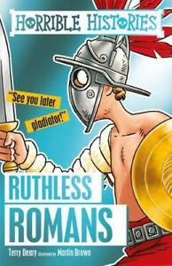 Ruthless-Romans-Horrible-Histories-by-Terry-Deary-NEW-Book-FREE-amp-Fast-Deliv