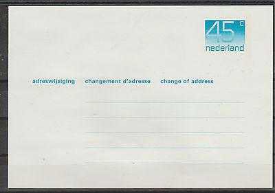 Netherlands & Colonies Stamps V2505 Niederlande/ Adressänderungskarte Minr AÄk 43 ** To Enjoy High Reputation At Home And Abroad