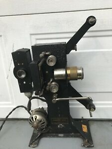 Antique-Victor-Safety-Cinema-28mm-Projector