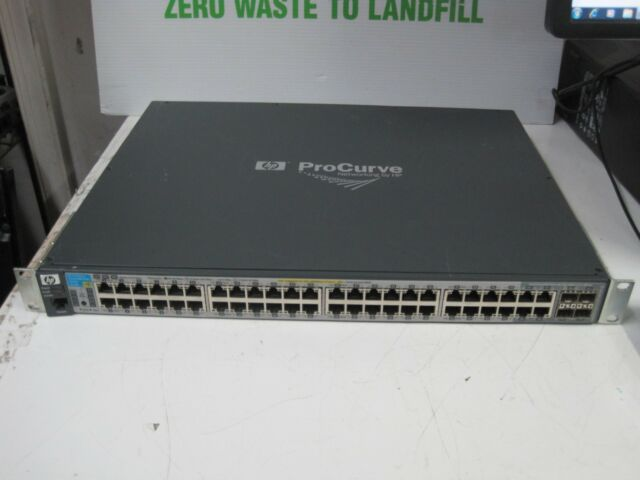 HP ProCurve J9148A 2910AL-48G-PoE+ Switch w/ Rack Ears