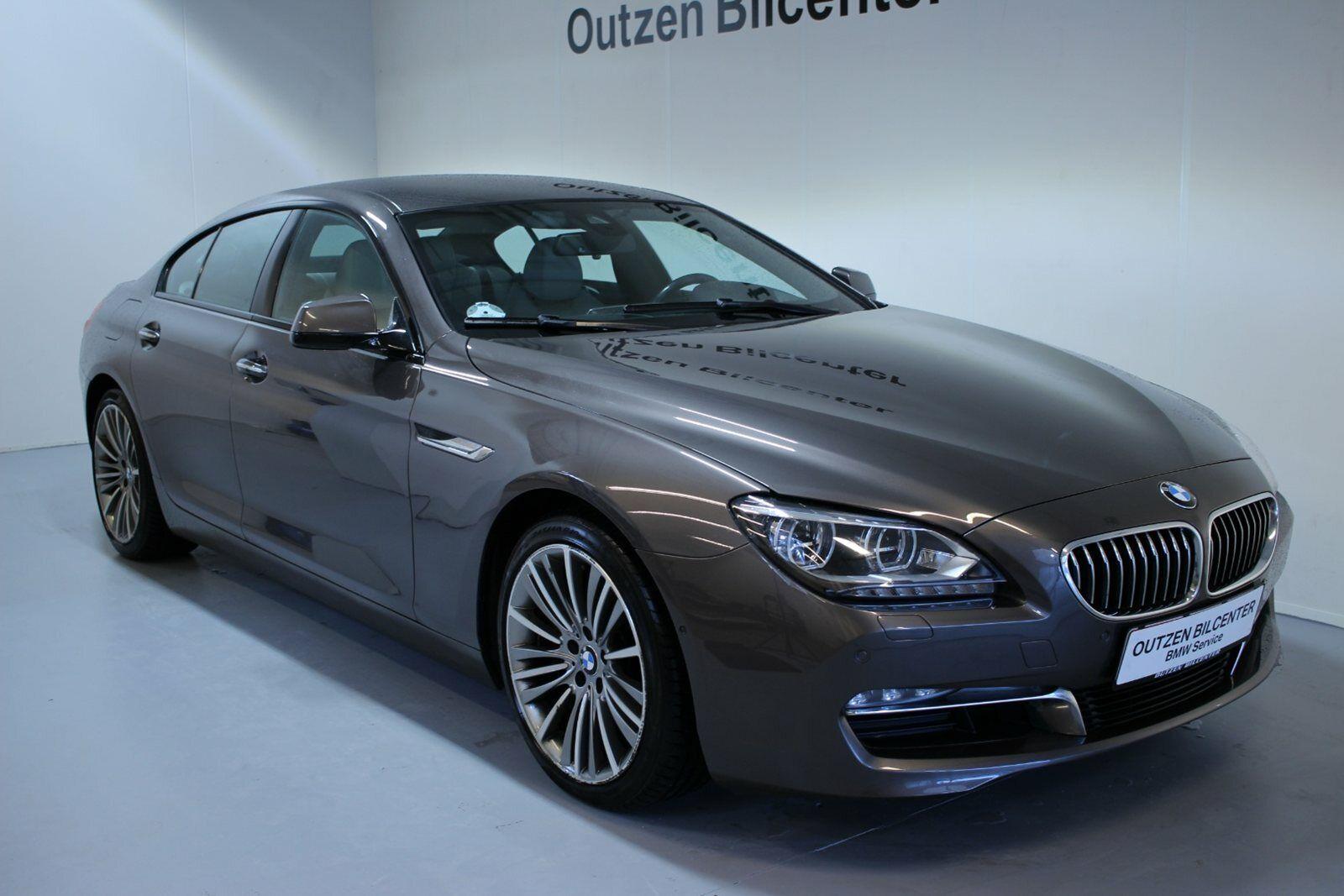 BMW 640d 3,0 Gran Coupé aut. 4d - 599.800 kr.