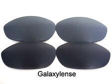 Galaxie verres de rechange pour Oakley Monster chien noir et gris 100% UVAB 2