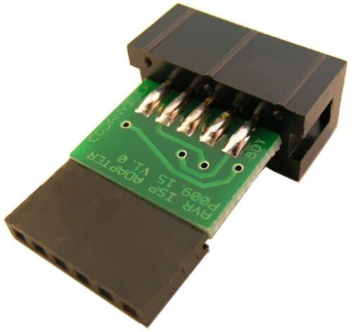 1x6-Kontakt Adapter zum AVR ISP Programmer P009.12 und P009.10
