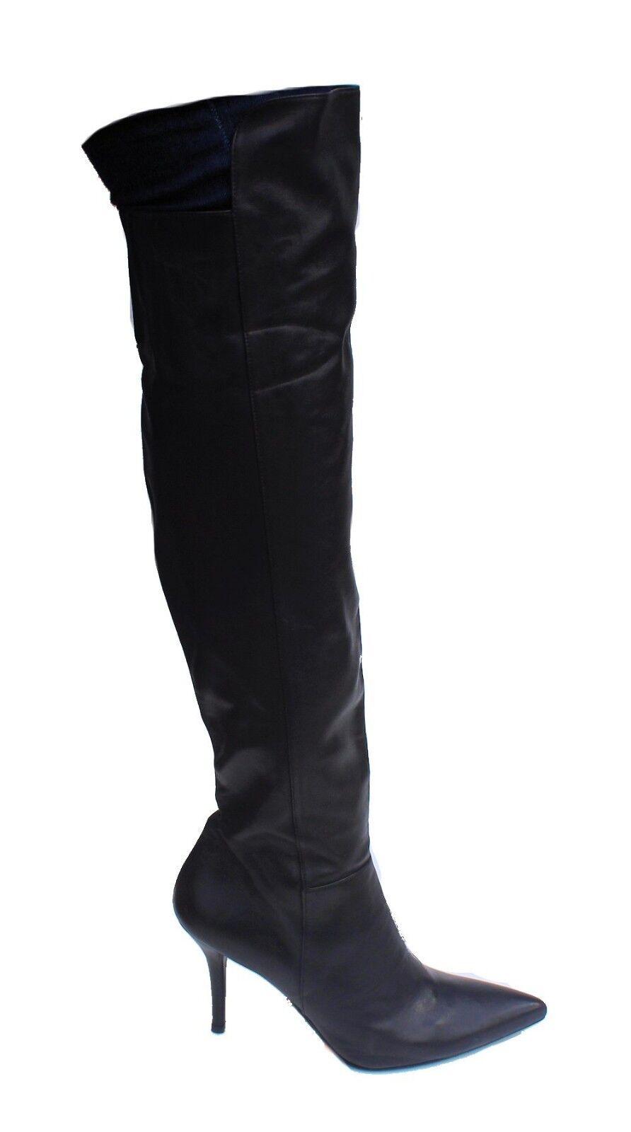 Stuart Weitzman Mujer vigoroso encima de de de la rodilla Bota Negro nos 9 Nob NWD  precios ultra bajos