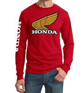 Classic-Honda-T-shirt-Jersey-HRC-250R-XR75-MR50-vintage-Retro-Elsinore-FourTrax