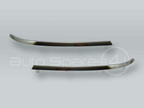 Chrome Front Bumper Molding Trim PAIR fits 2001-2005 VW Passat