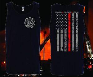 THIN-RED-LINE-TANK-TOP-FLAG-FIREFIGHTER-FIRE-DEPARTMENT-T-SHIRT-FIRE-FIGHTER
