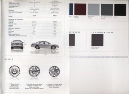 2004 Mercury Sable 16-page Original Car Dealer Sales Brochure Catalog